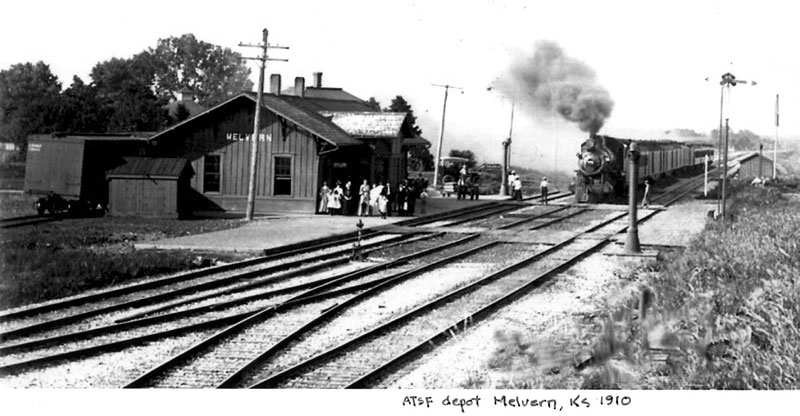 Old Melvern Depot